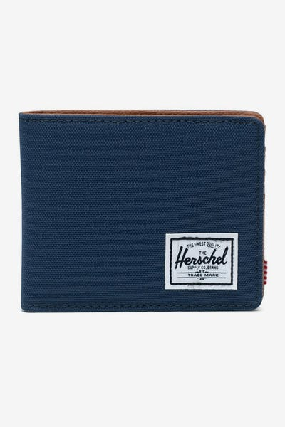 HERSCHEL BAG CO HANK RFID WALLET Navy/Red