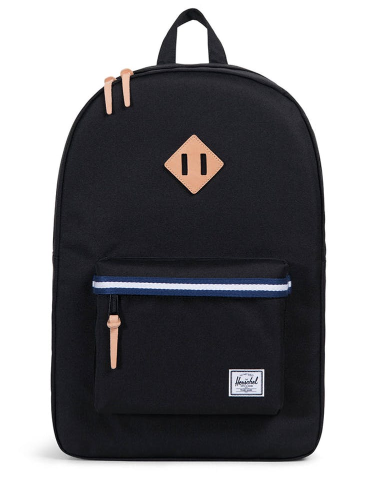 26322c2f50c Herschel Supply Co Heritage Offset Black Blue White – Culture Kings