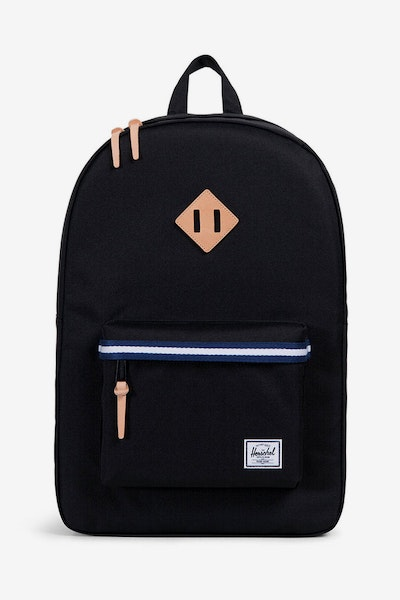 Herschel Supply Co Heritage Offset Black/Blue/White