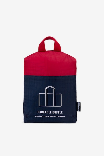 Herschel Supply Co Packable Duffle Navy/Red