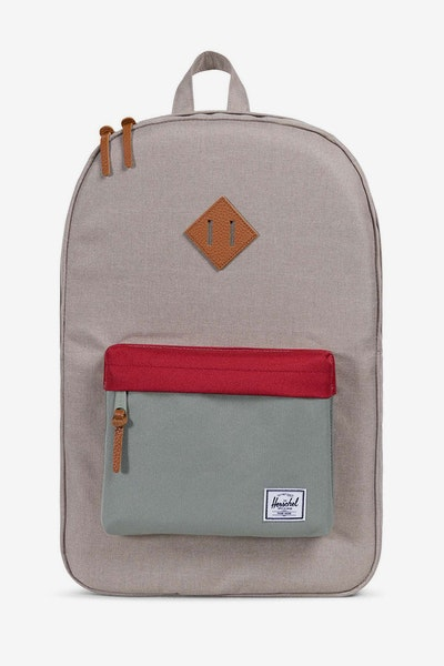 Herschel Supply Co Heritage Crosshatch Light Khaki/Grey