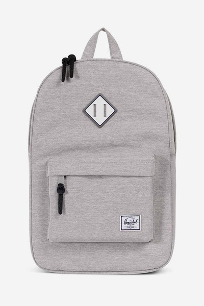 Herschel Supply Co Heritage Crosshatch Light Grey/White