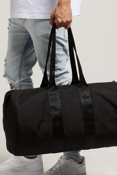 HERSCHEL BAG CO HAYWARD DUFFLE Black 9485e9859d