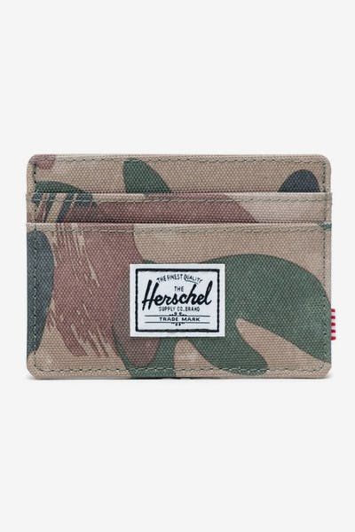 HERSCHEL BAG CO CHARLIE RFID WALLET Brushstroke Camo
