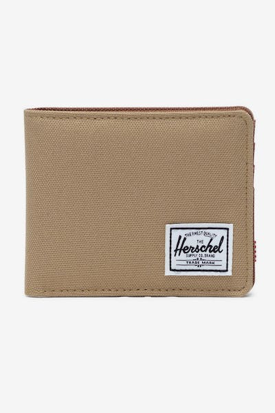 HERSCHEL BAG CO ROY RFID WALLET Kelp/Saddle Brown
