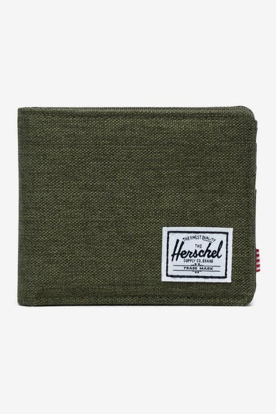 HERSCHEL BAG CO ROY RFID WALLET Olive Night