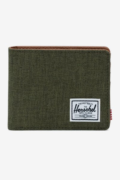 HERSCHEL BAG CO HANK RFID WALLET Olive Night