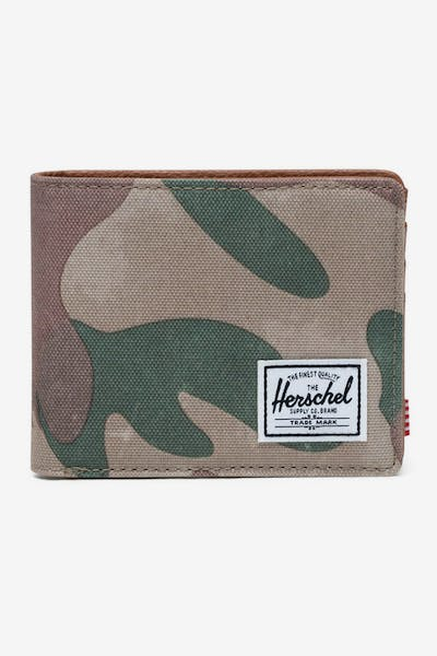HERSCHEL BAG CO HANK RFID WALLET Brushstroke Camo
