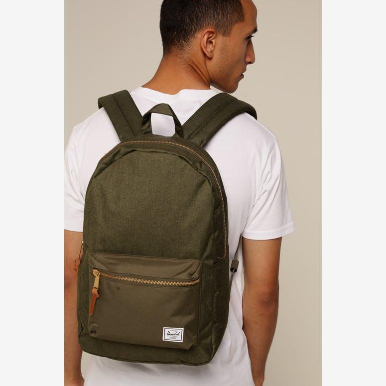 Herschel Bag Co Settlement Backpack Olive Night – Culture Kings 91ca2fc28f0ef