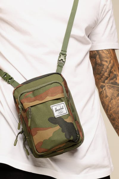 Herschel Bag Co Form Large Crossbody Woodland Camo