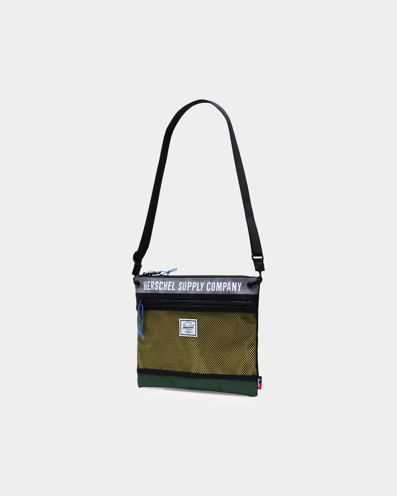 Herschel Bag Co Alder Hip Pack Green/Grey/Yellow