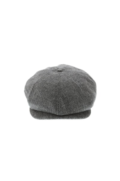 Brixton Brood Snap Cap Grey/black