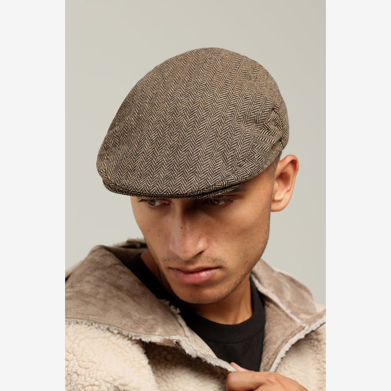 Brixton Hooligan Snap Cap Brown khaki – Culture Kings 2d76ac67c7b
