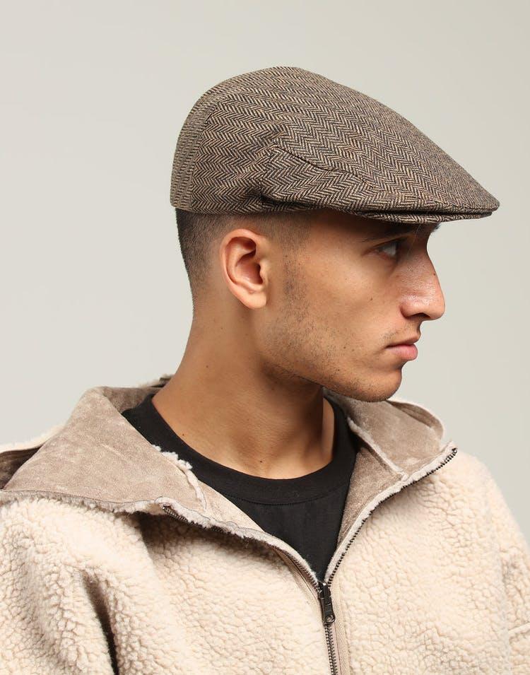61dfd4cb Brixton Hooligan Snap Cap Brown/khaki – Culture Kings