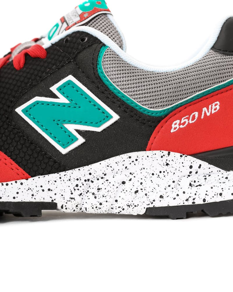 New Balance 850 Red/teal/grey