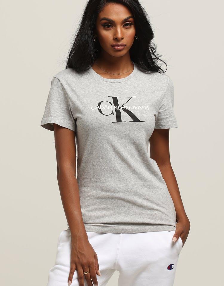 foto de Calvin Klein Women's Core Monogram Logo Slim Grey/Heather Grey ...