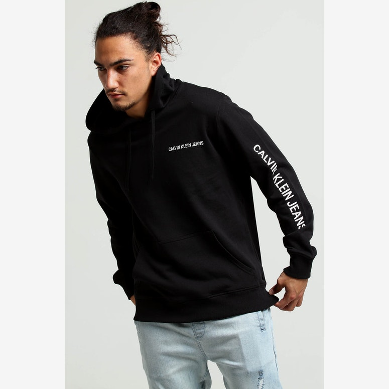 Calvin Klein Institutional Logo Reg Hood Black