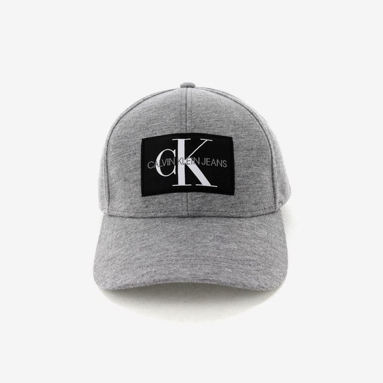 Calvin Klein J Monogram Cap Grey Heather