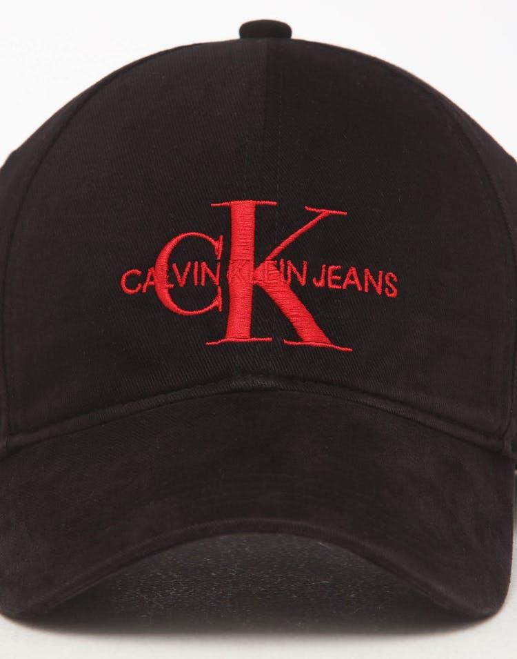 1a843a70 Calvin Klein J Monogram Cap Black/Red – Culture Kings