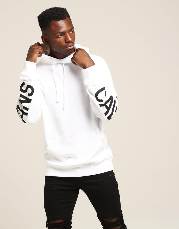 88ee2123 Calvin Klein Institutional Back Logo Hoodie White/Black – Culture Kings