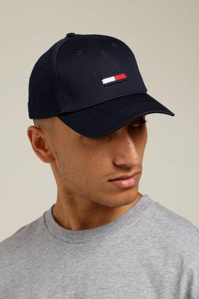 Tommy Jeans TJU Flag Cap M Midnight Navy 17fd7d9eb0db