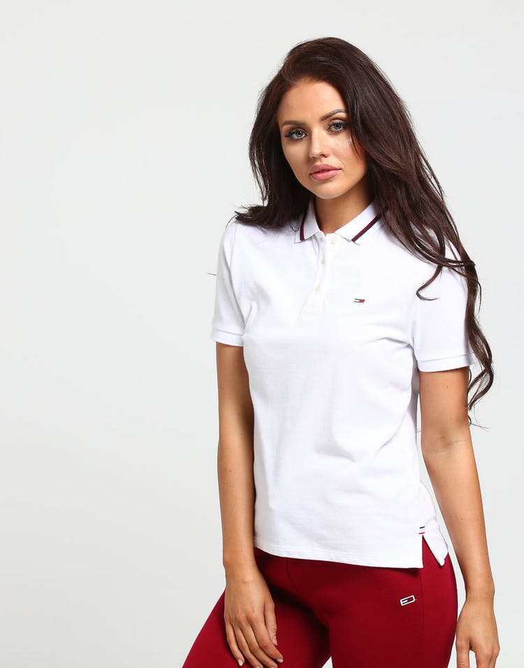 983fae04701 Tommy Jeans Women's Tommy Classics Polo White – Culture Kings