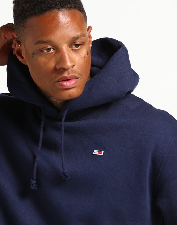 c3963e2b Tommy Jeans TJM Tommy Classics Hoodie Black Iris – Culture Kings