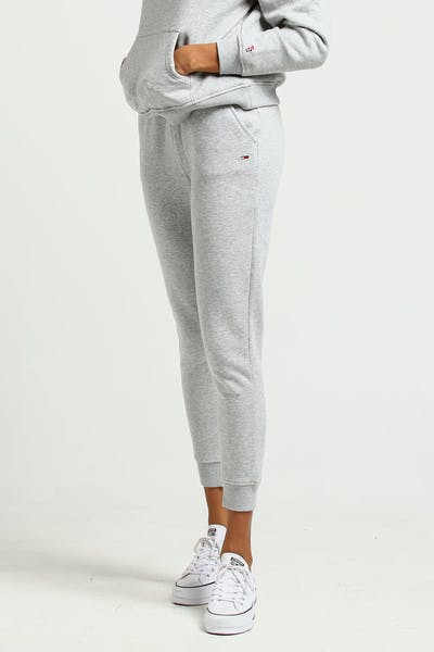 Tommy Jeans Women's TJW Tommy Classics Sweatpant Light Grey
