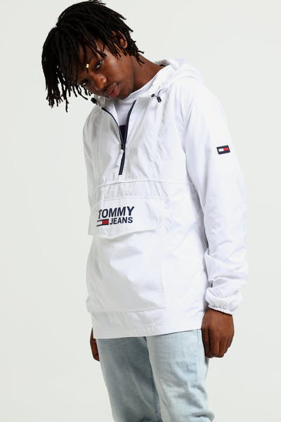 Tommy Jeans TJM Pop Over Anorak White