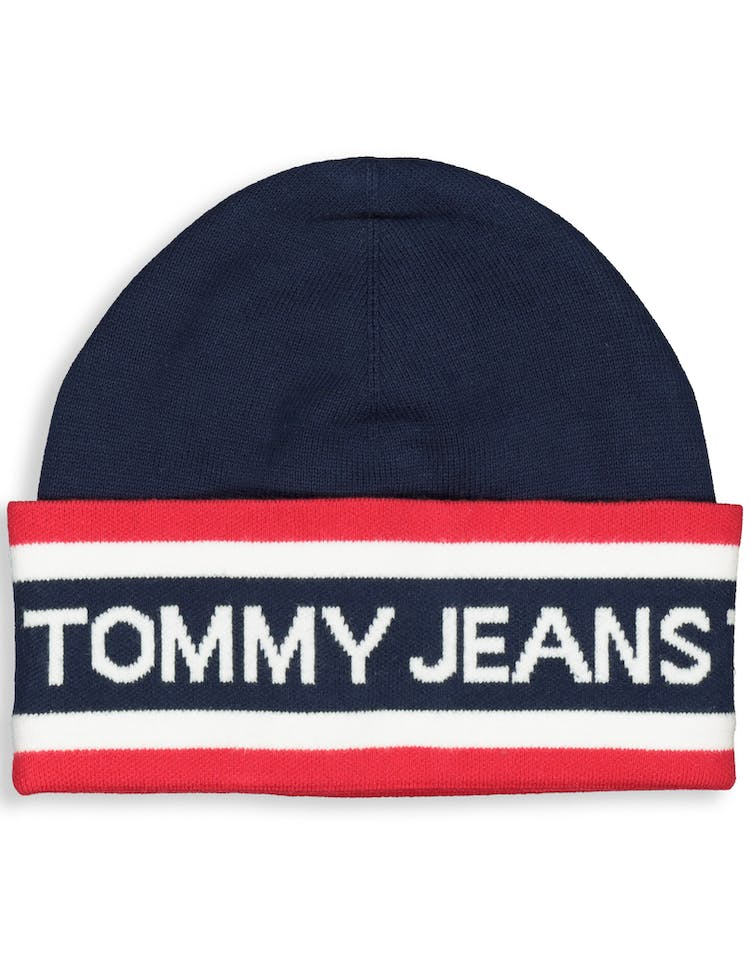 86966e43 Tommy Jeans TJU Heritage Beanie Dark Navy – Culture Kings