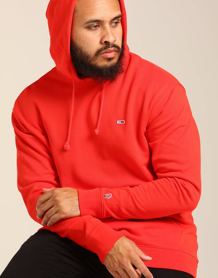 47f92b6c Tommy Jeans TJM Tommy Classics Hoodie Scarlet – Culture Kings