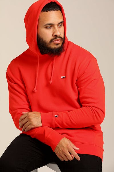 Tommy Jeans TJM Tommy Classics Hoodie Scarlet