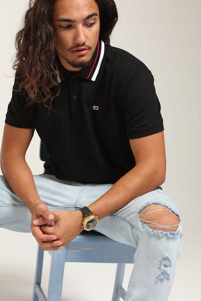 Tommy Jeans Classics Polo Tommy Black