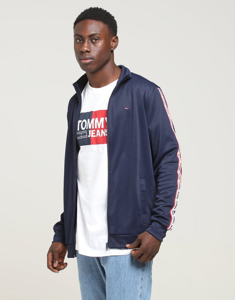 6fdb8688e Tommy Jeans TJM Track Jacket Black Iris – Culture Kings