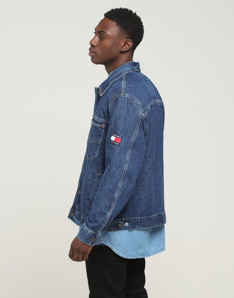 Tommy Jeans TJM Oversized Trucker Jacket Sole Mid Rigid