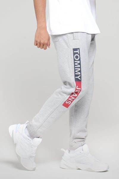 cea70fb44aaa21 Tommy Jeans TJM ESS Sweatpant Light Grey Heather