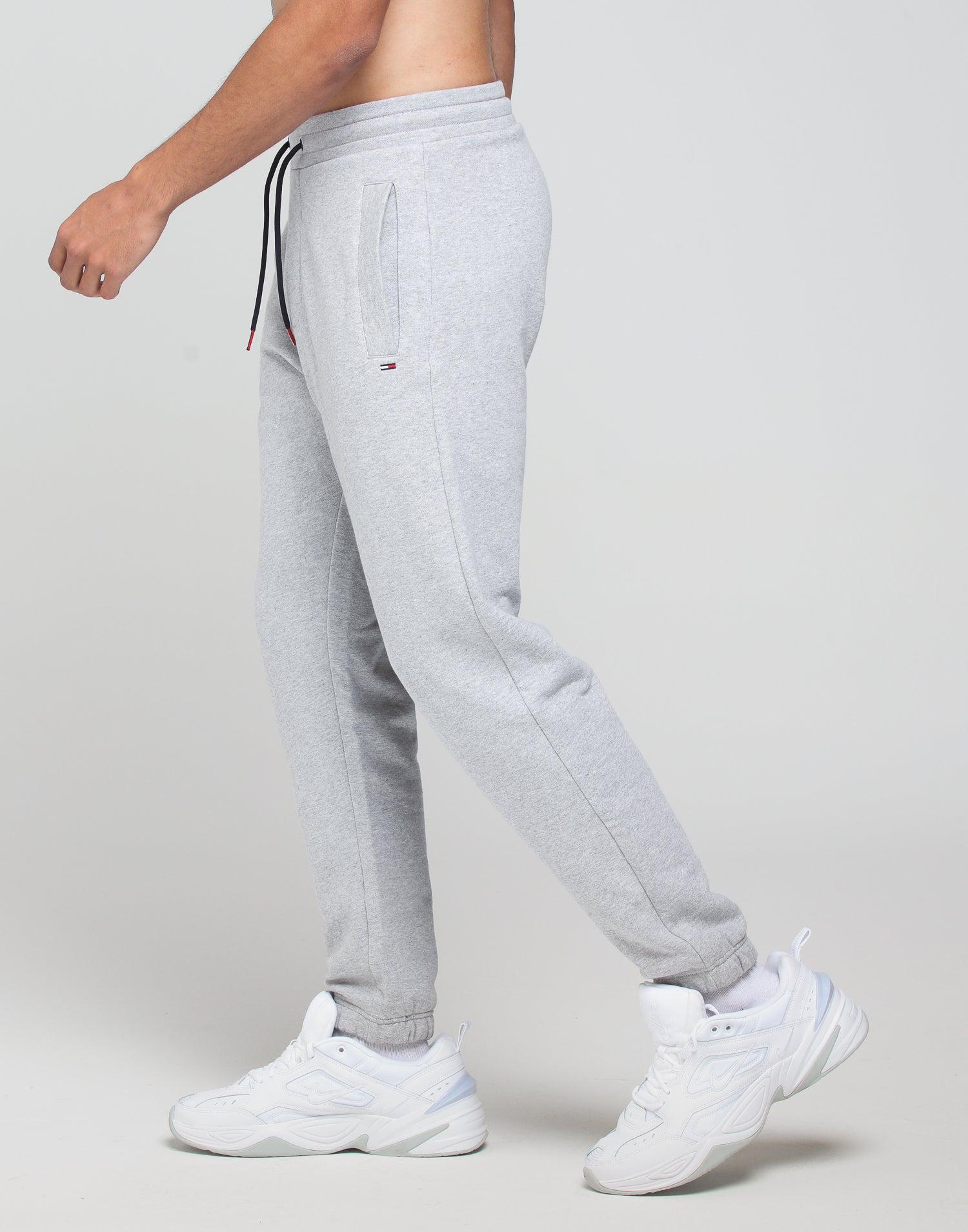 Tommy Jeans TJM ESS Sweatpant Light Grey Heather
