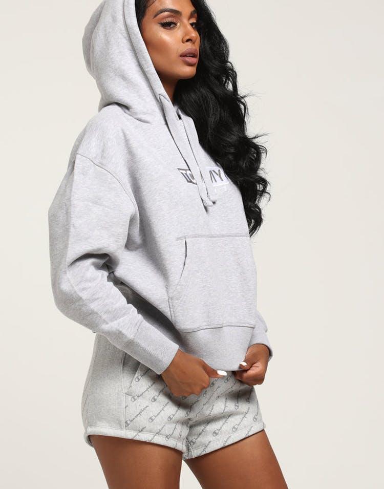 49c44187 Tommy Jeans Women's Clean Logo Hoodie Light Grey – Culture Kings