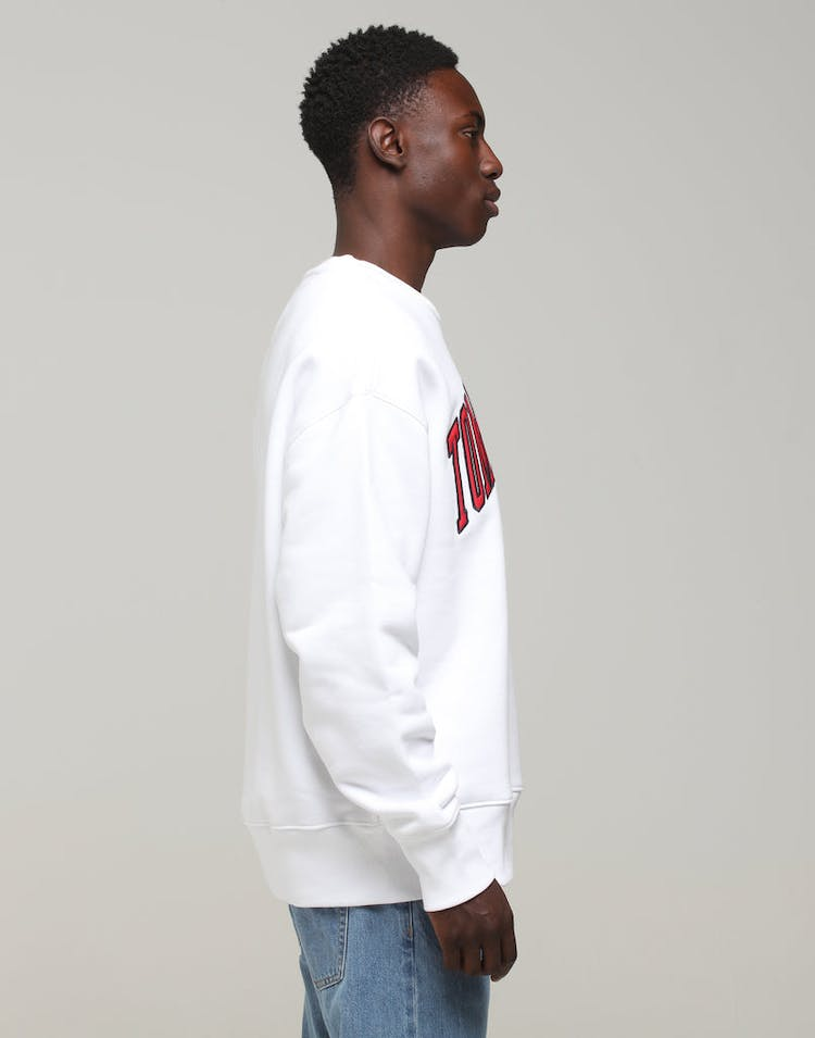 Tommy Jeans Clean Collegiate Crew Classic White