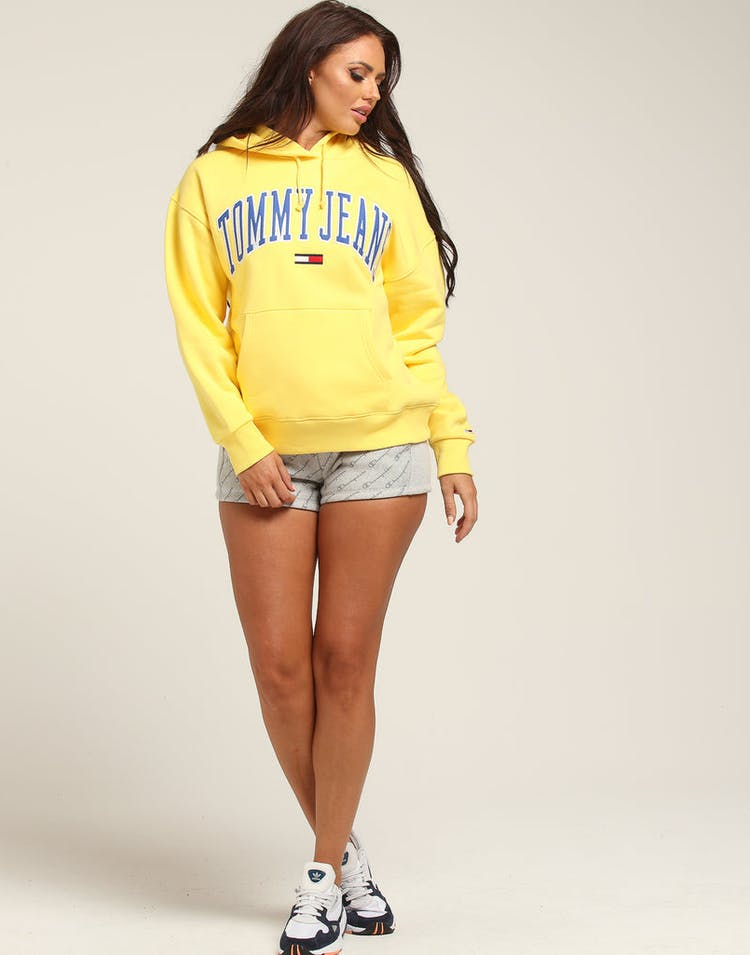 9989c672705 Tommy Jeans Women's TJW Clean Collegiate Hoodie Gold – Culture Kings