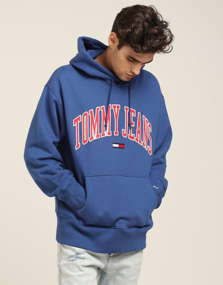 956fed7d Tommy Jeans TJM Clean Collegiate Hoodie Blue – Culture Kings