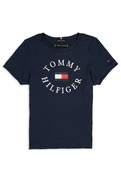 Tommy Jeans Essential Tommy Graphic Tee P2 Black Iris