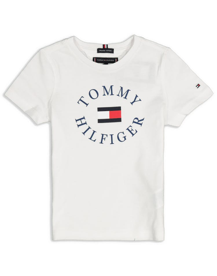 Tommy Jeans Essential Tommy Graphic Tee P2 White