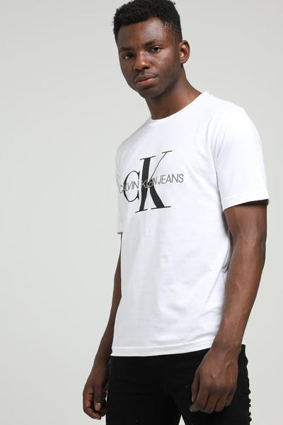 Calvin Klein Monogram Embro W/O Box Reg White