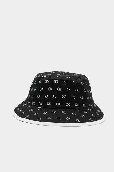 Calvin Klein J CK Allover Reverse Bucket Black/White