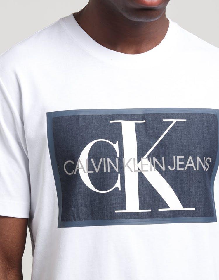 Calvin Klein Monogram Icon Box SS White