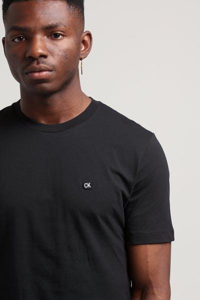 419b74ec8 Calvin Klein CK Badge Embroidery Reg Tee Black ...