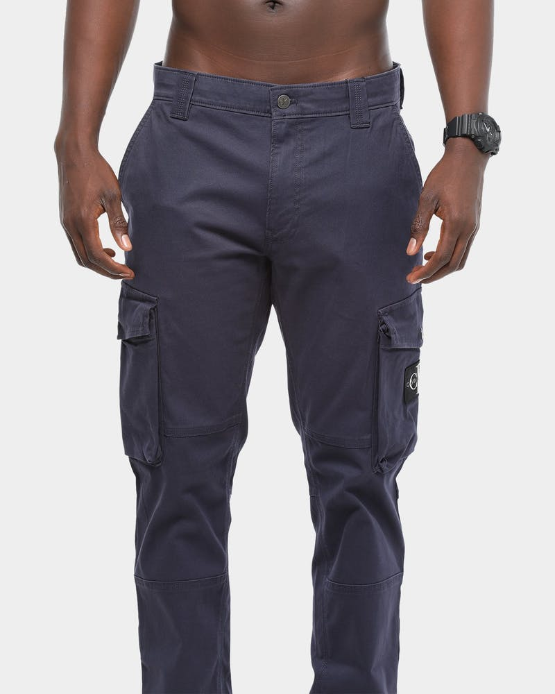 Calvin Klein Skinny Washed Cargo Pant Midnight Navy