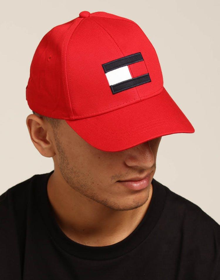3a0effaca094b Tommy Jeans Big Flag Cap Red – Culture Kings