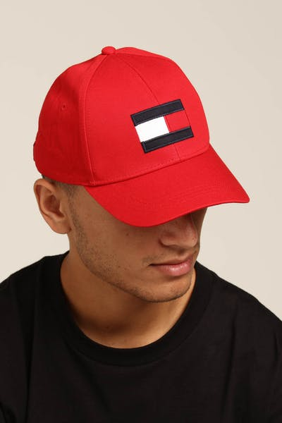 Tommy Jeans Big Flag Cap Red